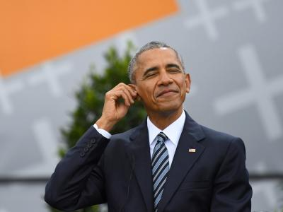 Barack Obama hält Laudatio auf Rapper Jay-Z class=