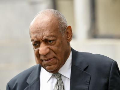 Der US-Entertainer Bill Cosby vor dem Montgomery County Gericht in Norristown